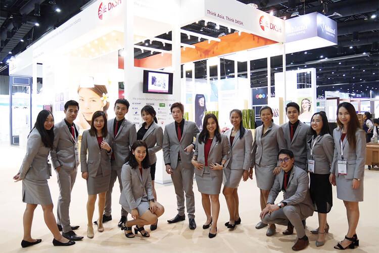 DKSH at In-Cosmetics Asia 2017, Bangkok, Thailand