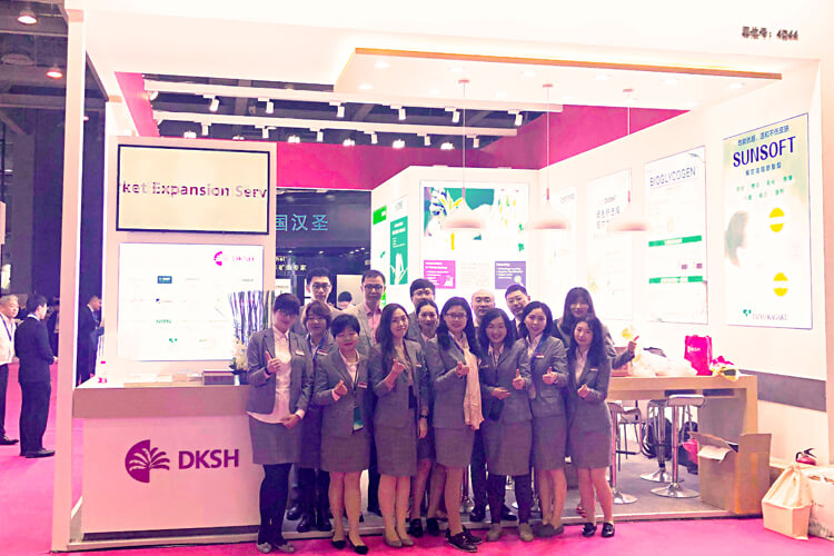 DKSH at Food Ingredients China, 2019, Shanghai, China